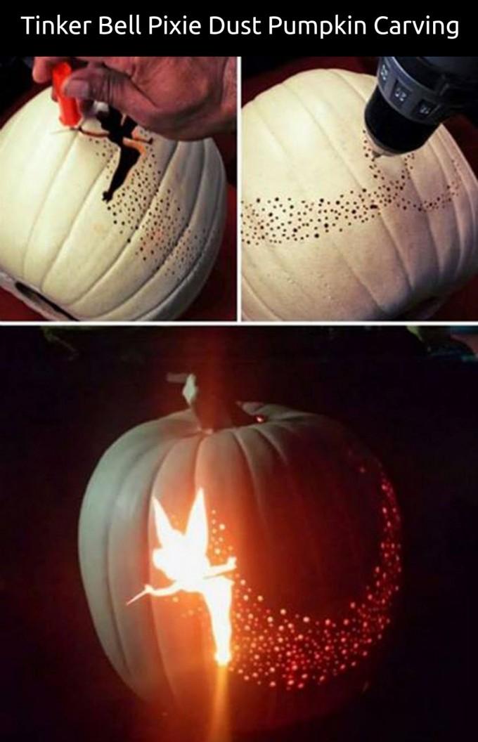 tinker bell pumpkin