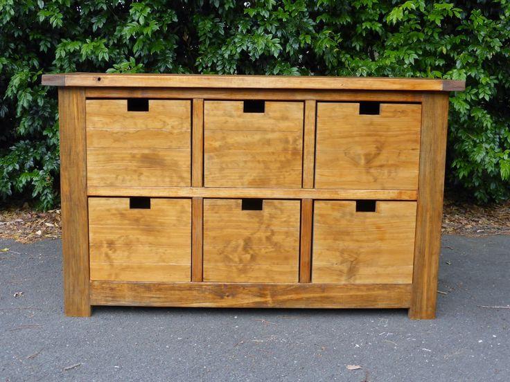 diy dumpster dresser