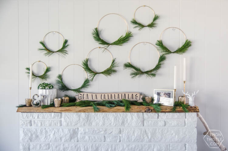 Put a fresh spin on a classic wreath