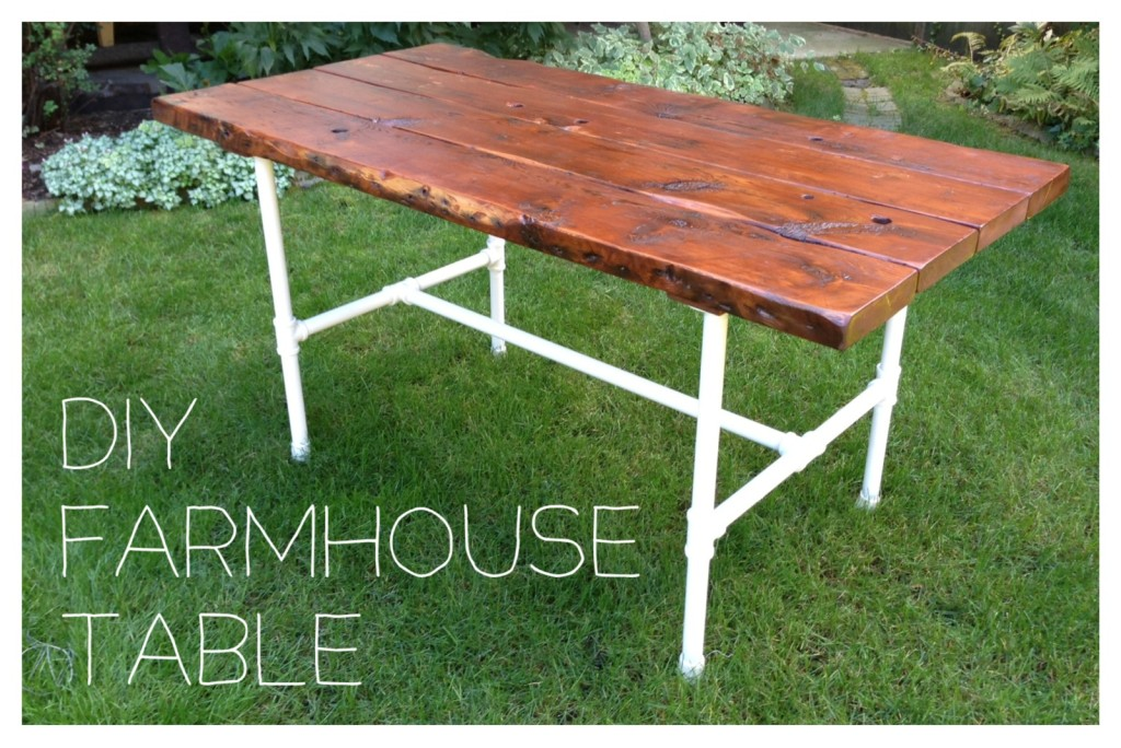 10 diy dining table ideas build your own table Diy farmhouse table