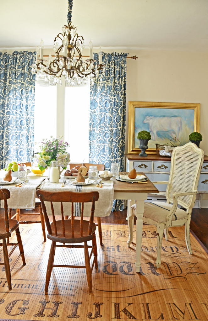 10 diy dining table ideas build your own table for Build your own farmhouse