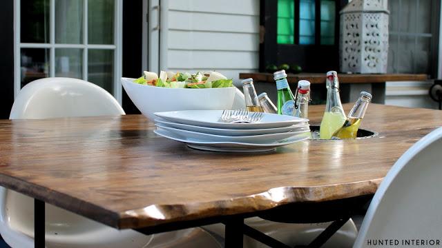 live edge table