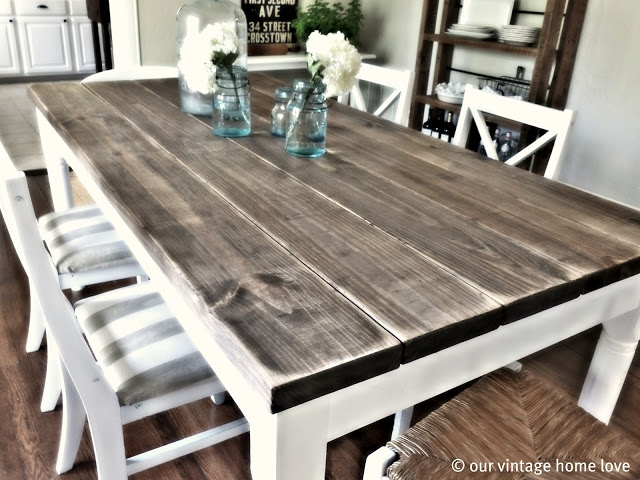 plank top table