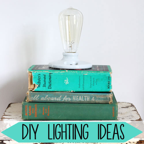 DIY lighting ideas