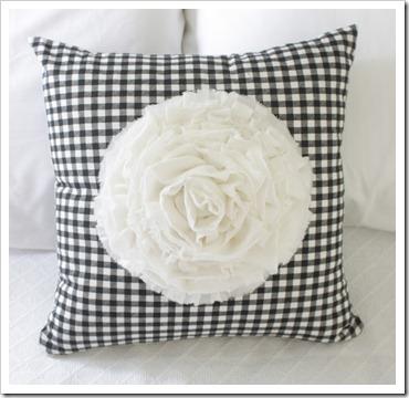 dahlia pillow