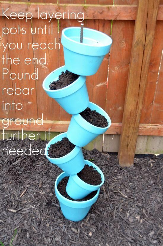 diy garden planter and birds bath