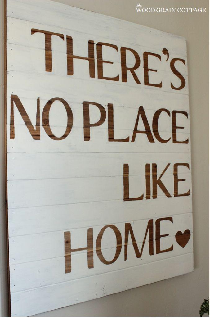 diy home sign