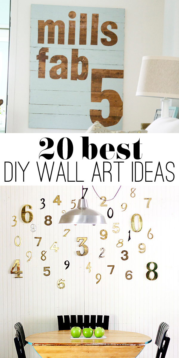 20 best DIY wall art ideas