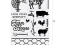 Farmhouse Chalk Transfers