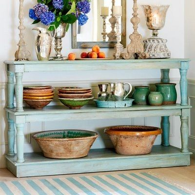 Coffee Table to Buffet