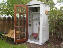 Four Door Shed