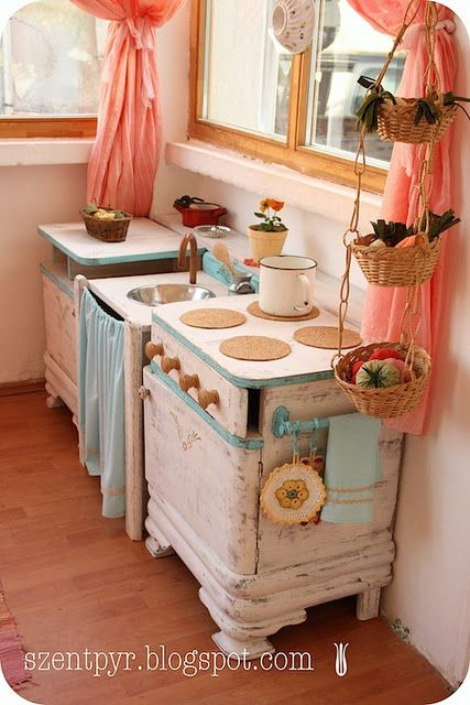 Night Stands to Play Kitchen