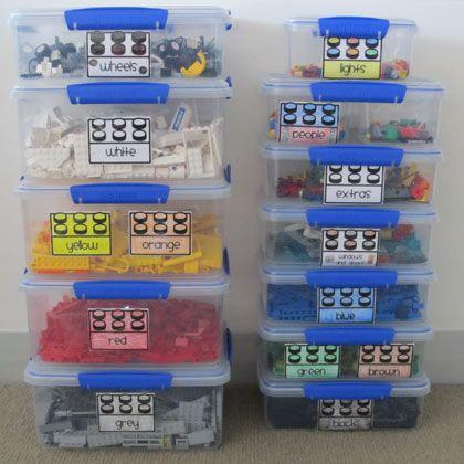 snap top lego bins