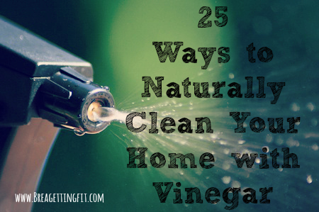 clean anything with vinegar