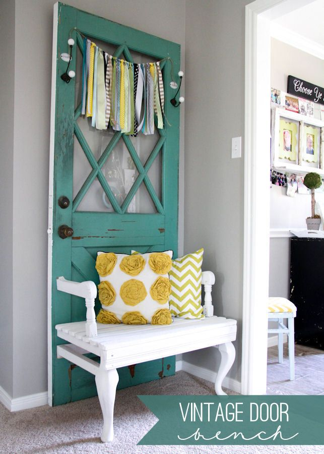 20 ways to use old doors for Decorar casa quinta