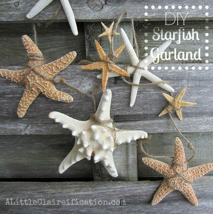 diy starfish garland