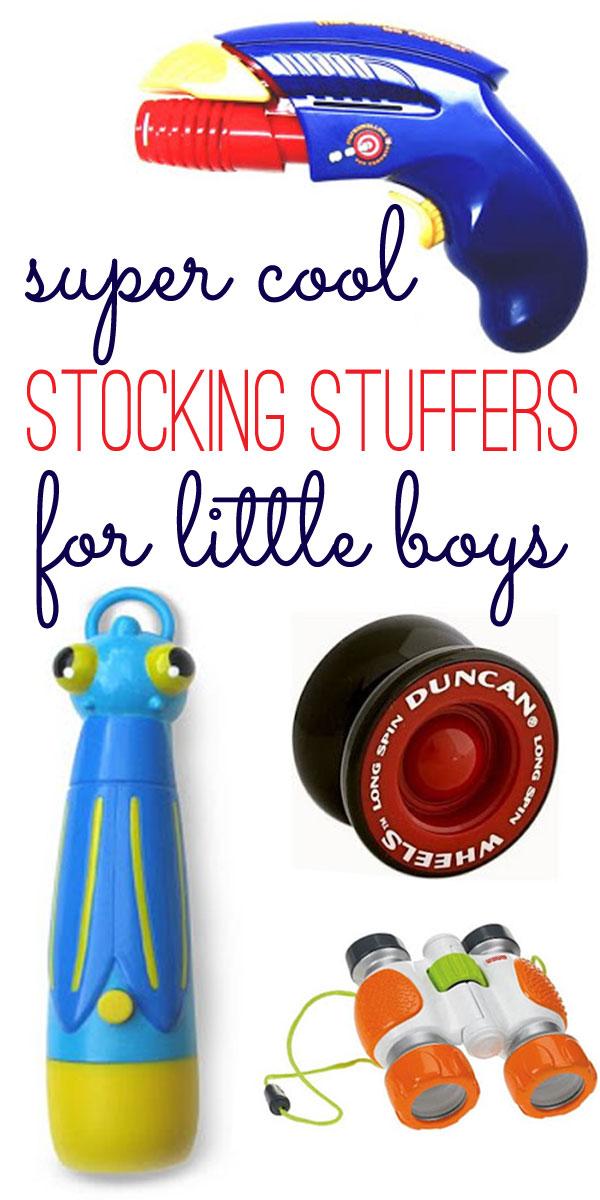 stocking stuffers for little boys