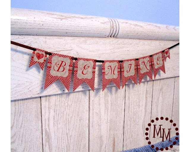 be mine bunting
