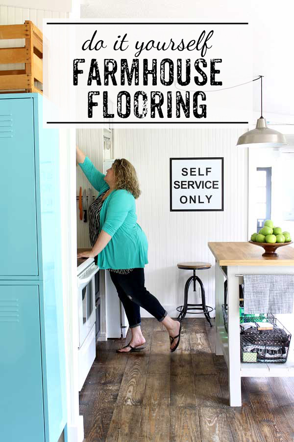 Farmhouse Floors From Pine Planks How To Diy It