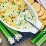 Hot crab dip - one of my favorite appetizers at parties. Trying this recipe for our next book club!