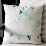Bunting Pillow Cover