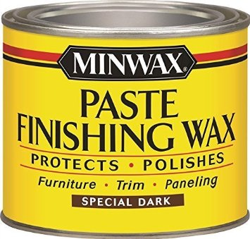 using wax to distress a painted sign