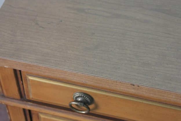 This desk was revamped into a gorgeous sheet music desk.