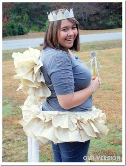 what a cute halloween costume - a diction fairy!