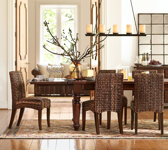 Dining Room from Pottery Barn - keep it simple, yet elegant all at the same time