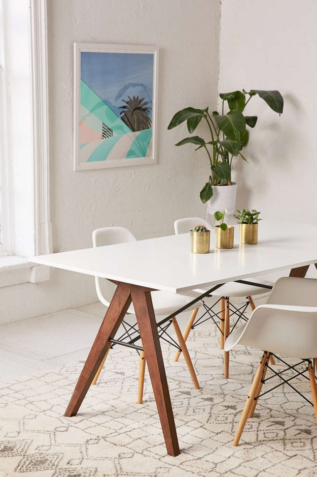 love the minimalist dining room look - so modern and stylish