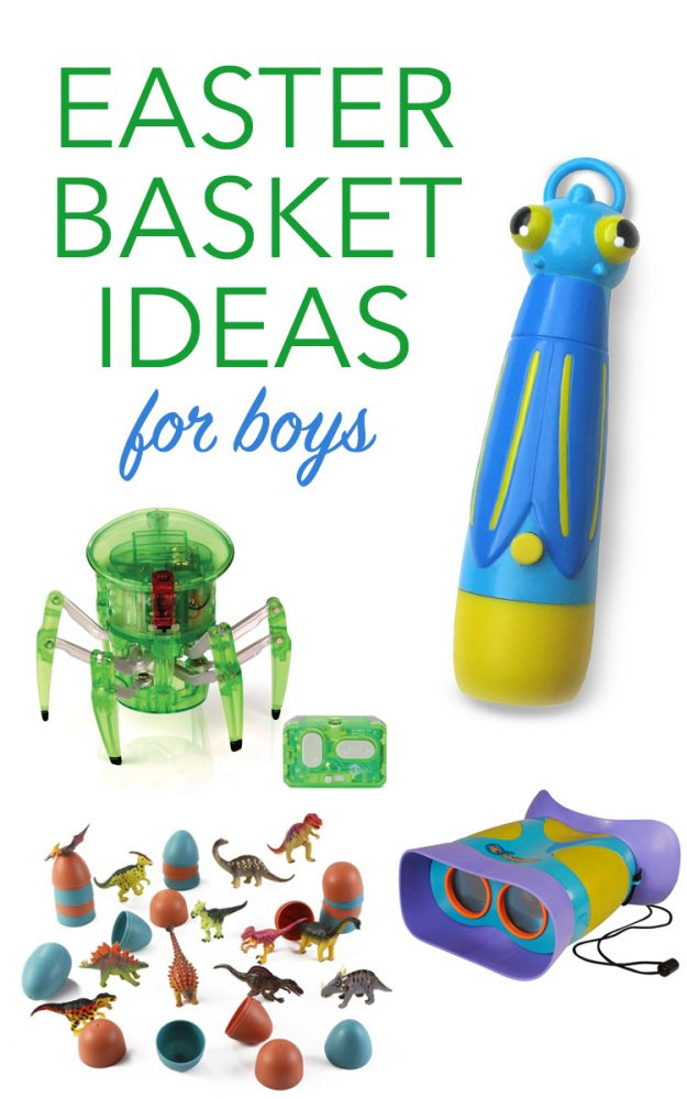 these are some awesome easter basket ideas for boys