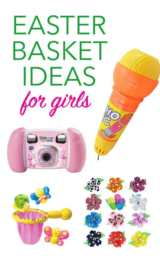 Great Easter Basket Ideas for Girls!