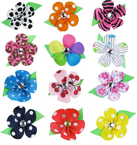 Girls Easter Basket ideas: these hair bows are adorable
