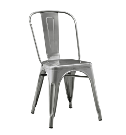 Amazing Love the industrial farmhouse style chairs Get the look for less these are a