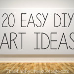 20 ideas to make your own artwork