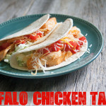 Easy Dinner Recipe: Buffalo Chicken Tacos | The Shabby Creek Cottage