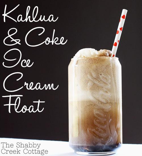 Kahlua And Coke Ice Cream Float Recipe