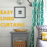 Easy Lined Curtains