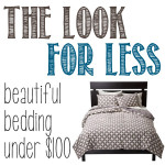 beautiful bedding for under $100
