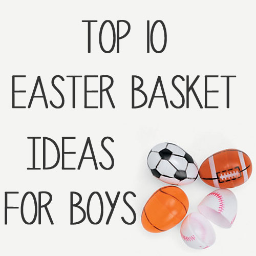 Top 10 classic easter basket filler ideas for little boys negle Images