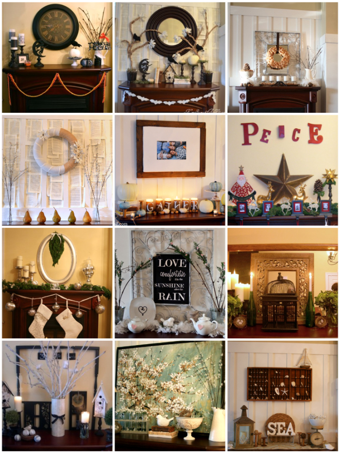 how to make mantel magic the shabby creek cottage