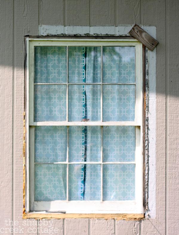 wood window makeover