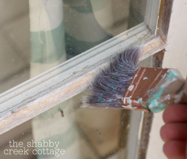 window glaze tutorial