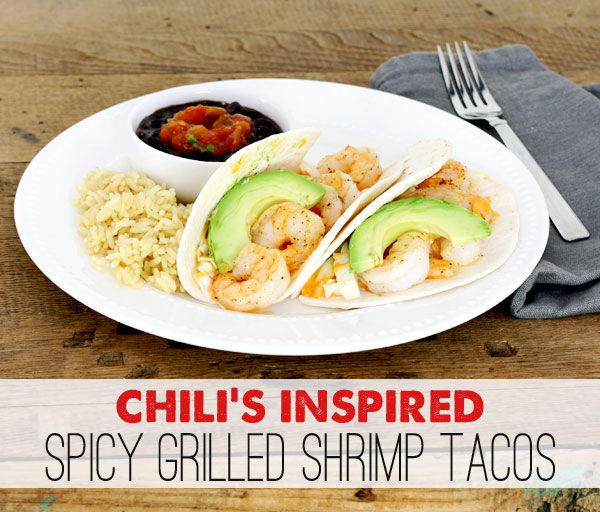 Chili's Spicy Grilled Shrimp Tacos Recipe