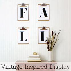 Vintage-Inspired-Display