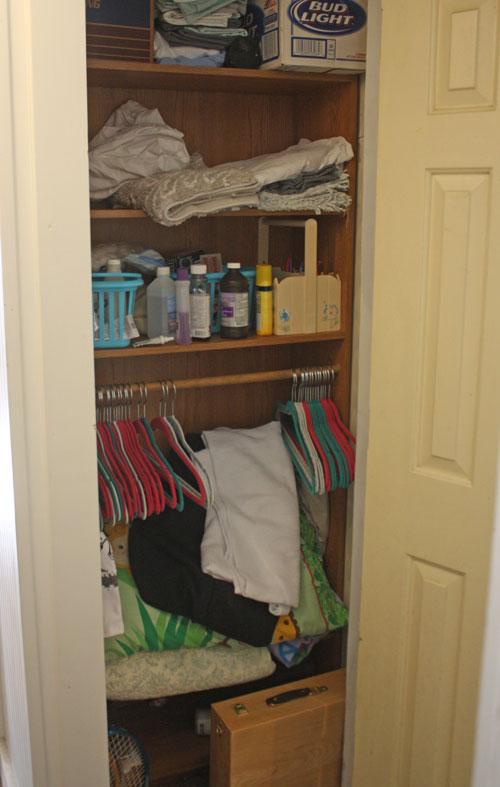 quick closet makeover