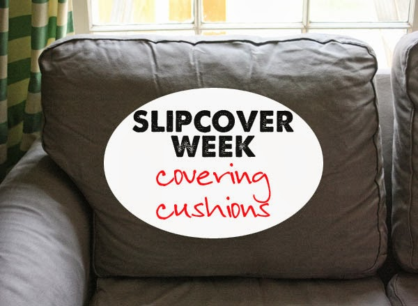 How To Slipcover Cushions