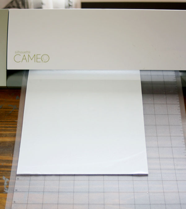 silhouette cameo project