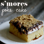 smores poke cake