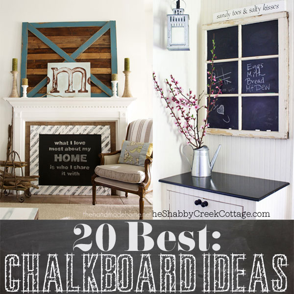 Best Diy Chalkboard Ideas